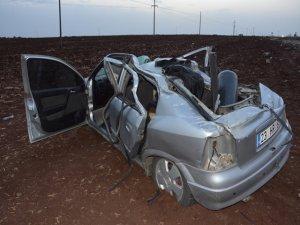 Siverek'te kaza: 5 yaralı
