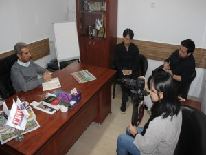 Tayvanlı Gazetecilerden Gazetemize Ziyaret