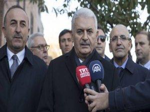 Başbakan Yıldırım: Irak'ın yanındayız