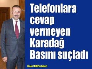 Telefonlara cevap vermeyen Karadağ basını suçladı