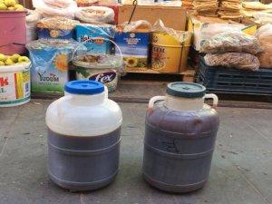 Ergani'de Sahte pekmez satılıyor iddiası