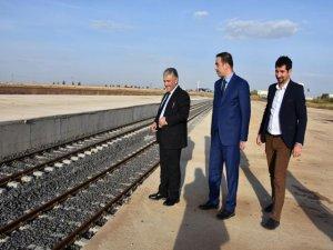 Diyarbakır OSB demiryoluna kavuştu