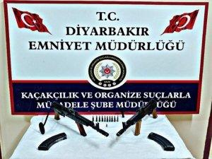 Diyarbakır merkezli silah kaçakçılığı operasyonu