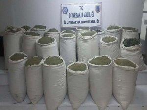 Narko-terör operasyonu: 12 milyon 150 bin lira değerinde toz esrar