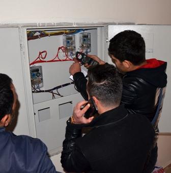 Dicle Elektrik,  Polis eşliğinde denetime çıktı