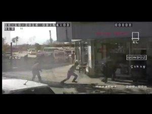 Yüksekova'da 4 kişinin öldüğü zırhlı araçtan ateş edilme anı görüntüleri ortaya çıktı