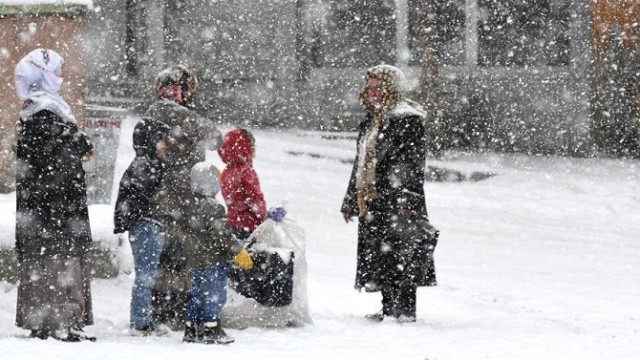 Doğu kışa teslim, Marmara'da sıcaklık artıyor