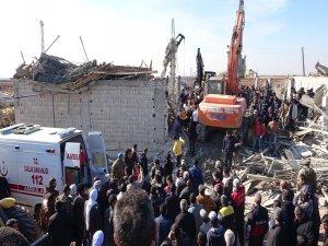 Şanlıurfa'da inşaat çöktü: 1 ölü, 5 yaralı