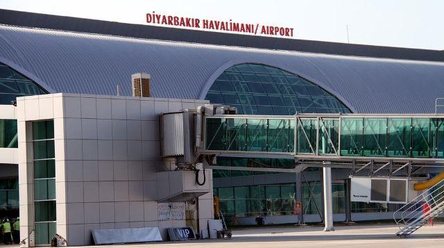 Diyarbakır'da Havayolu kullanımı arttı