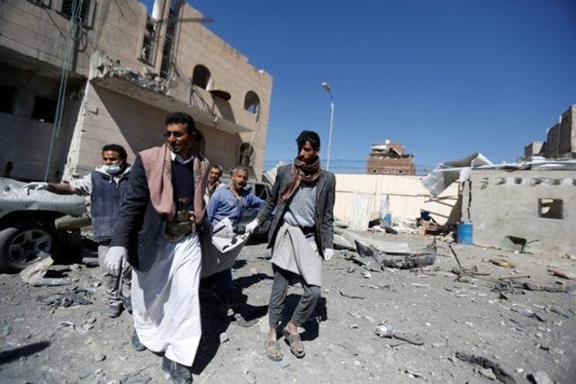 Yemen'e hava saldırısı: 39 ölü ve 80 yaralı