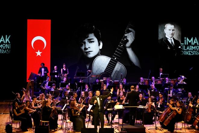 Limak Filarmoni Orkestrası Zeki Müren'in şarkılarını seslendirdi