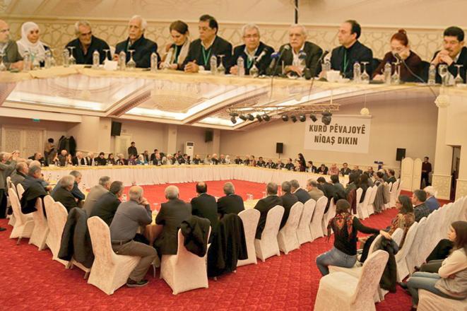 Kürt parti ve kurumlar ulusal birlik gündemiyle toplandı