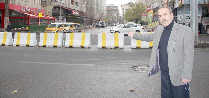 Büyükşehir'e 'Bariyer' tepkisi