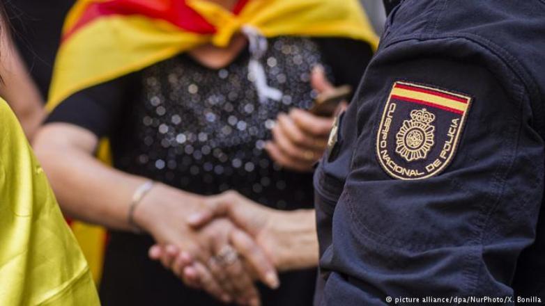 İspanya Katalonya'dan polislerini çekiyor