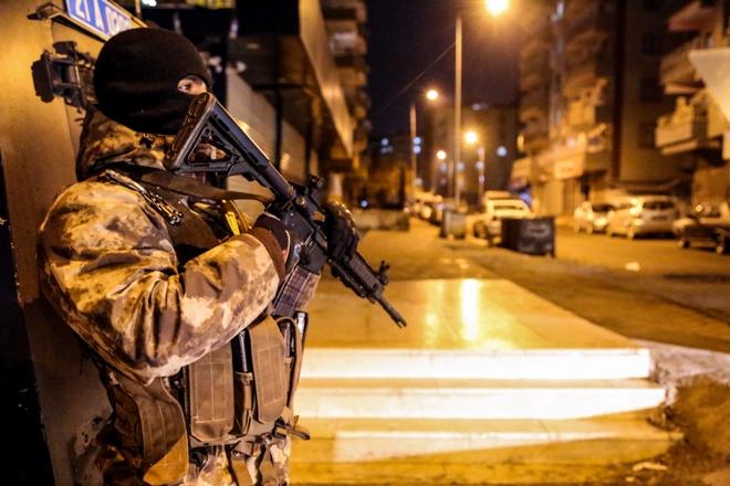 Bin 9 polisle asayiş uygulaması