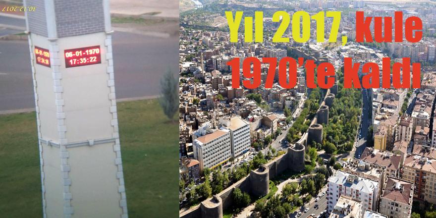 Yıl 2017, kule 1970'te kaldı