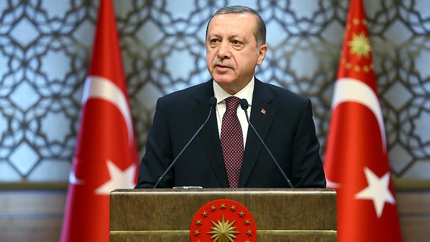 Erdoğan'dan yeni yıl mesajı