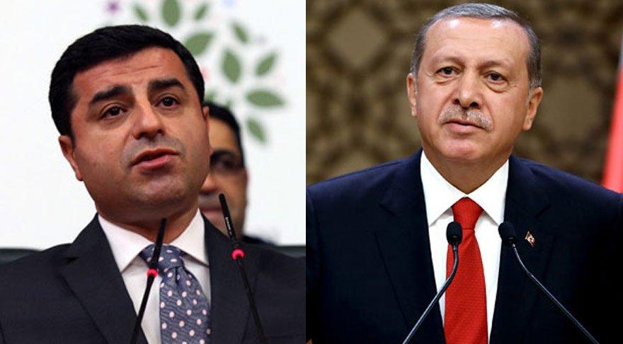 Demirtaş, Erdoğan'a 15 bin lira tazminat ödeyecek