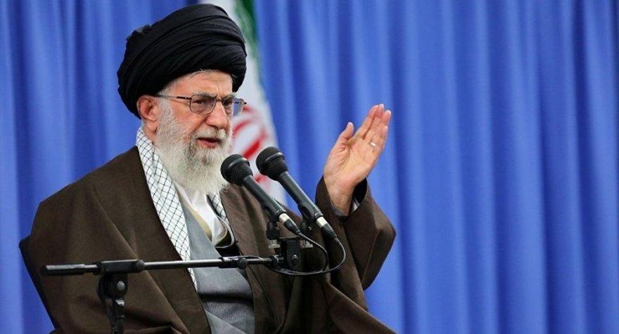 İran dini lideri Ayetullah Hamaney'den ilk açıklama