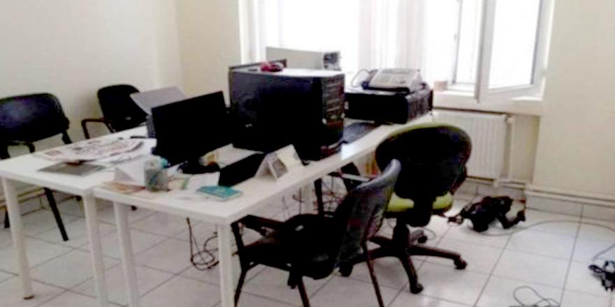 Evrensel'in Diyarbakır bürosuna hırsız girdi