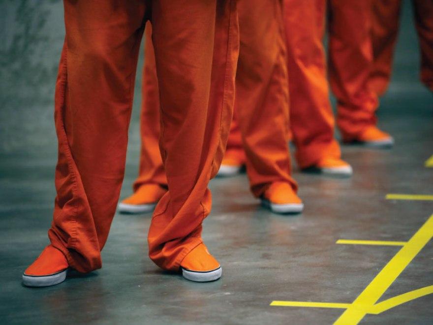 Mahkumlardan 'tek tip kıyafet' protestosu