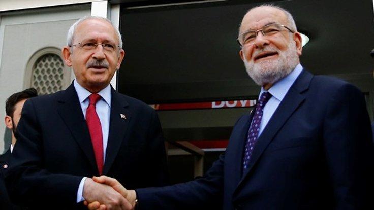 Saadet Partisi, CHP'ye gidiyor