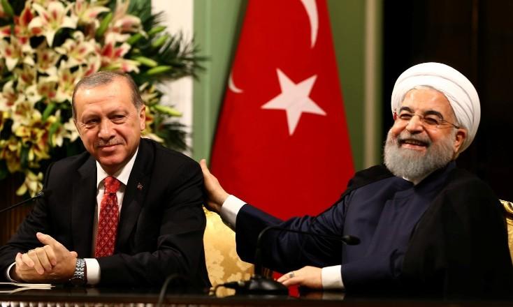 Erdoğan, Ruhani ile görüştü!