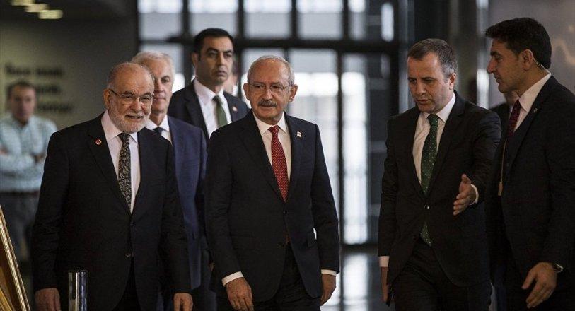Kılıçdaroğlu ve Karamollaoğlu'ndan 'uyum' açıklaması