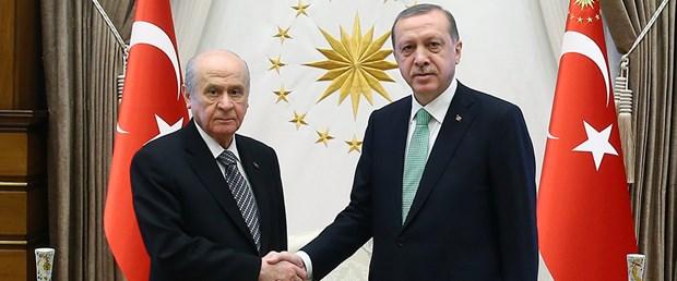 Erdoğan Bahçeli'yi Beştepe'ye çağırdı