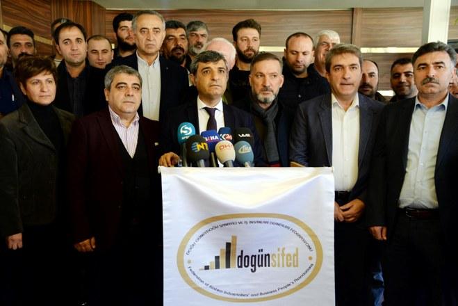 DOGÜNSİFED Başkanı Özkılıç: Taşeron yasası ile 17 bin şirket kapanmayla karşı karşıya