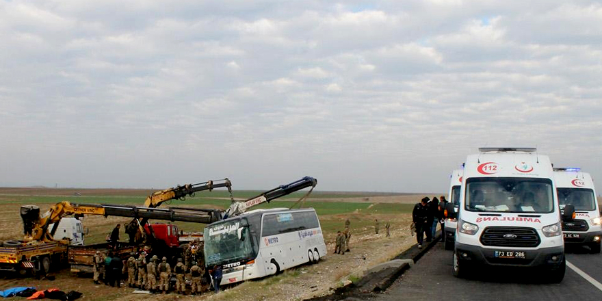 Silopi'deki kazada ölen 9 Iraklı'nın cenazesi Ankara'ya gönderildi