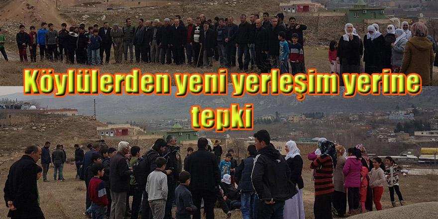Hasankeyf'te köylülerden yeni yerleşim yerine tepki