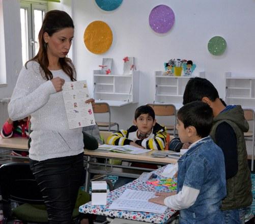 Öğretmenin azmi, engelli öğrencilerin hayatını değiştirdi