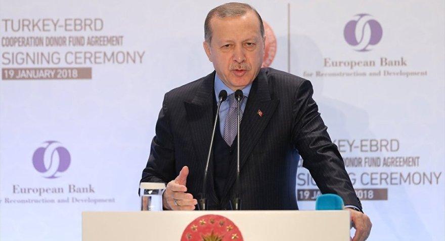 Erdoğan: Kredi derecelendirme kuruluşlarına bu işi öğreteceğiz