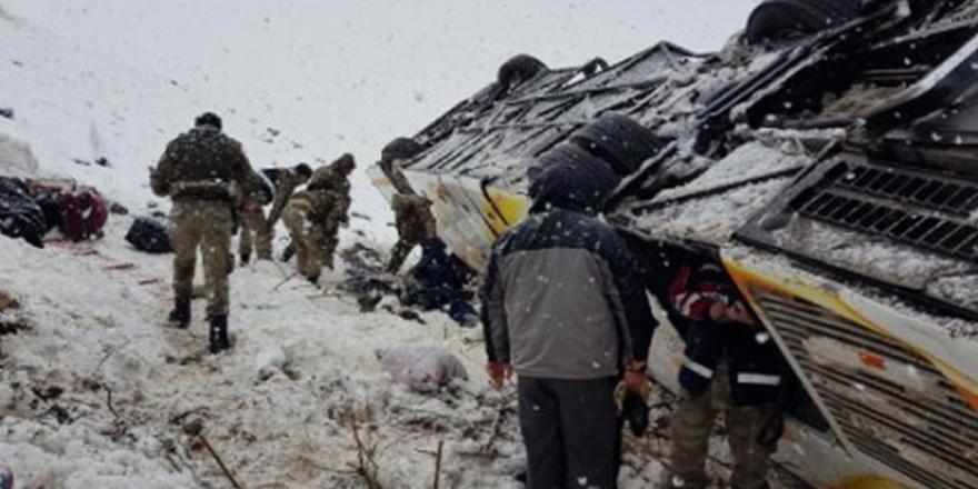 Muş'taki kazada ölenlerin sayısı 7'ye çıktı