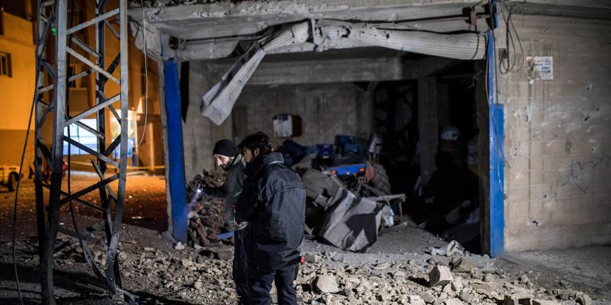 Kilis'e 4 roket atıldı: 1 yaralı