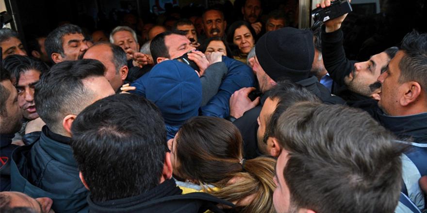 Afrin protestosuna müdahale