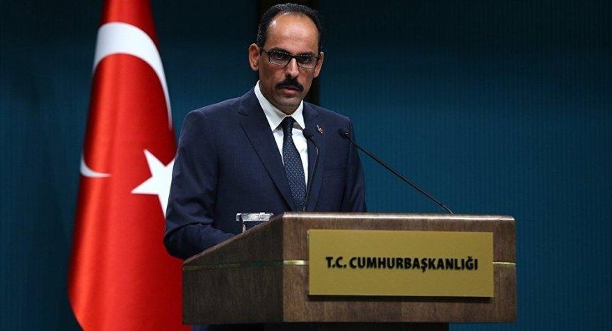 Kalın: YPG, Suriyeli Kürtleri temsil etmiyor