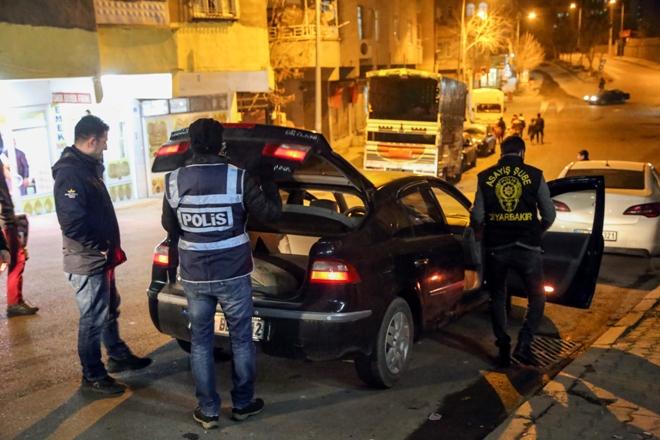 260 polisle hava destekli asayiş uygulaması