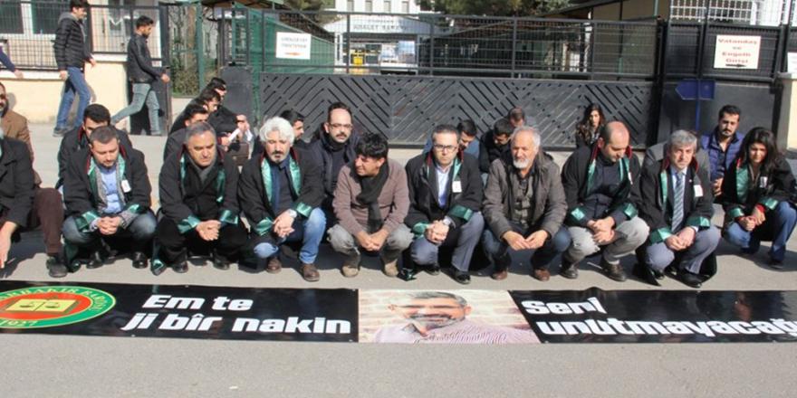 Diyarbakır Barosu: Elçi'nin dosyasında ilerleme yok
