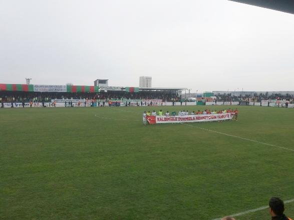 Amedspor-Tuzlaspor maçı başladı