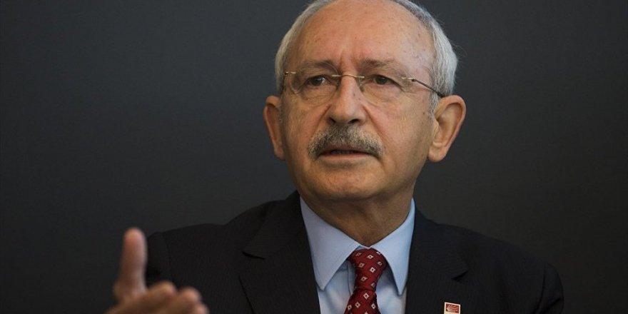 Kılıçdaroğlu: Afrin'e girilmesini doğru bulmuyorum