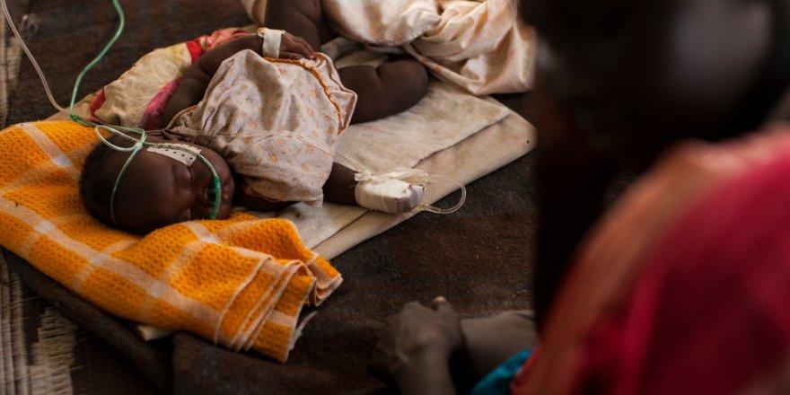 Yılda bir milyon çocuk zatürreden ölüyor