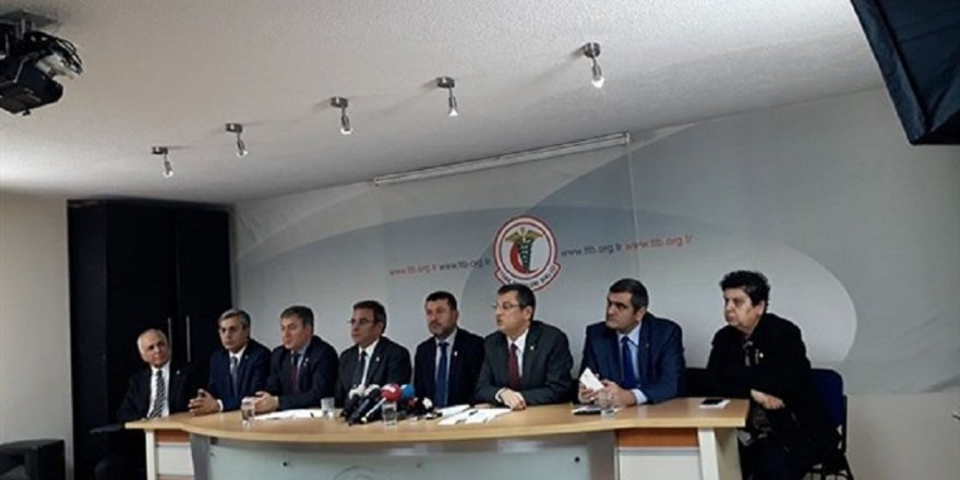 CHP'li vekillerden TTB'ye destek ziyareti