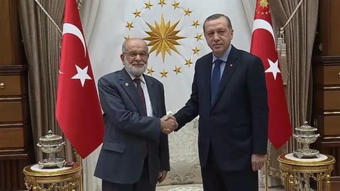 Erdoğan Saadet Partisi Lideri'yle görüşecek