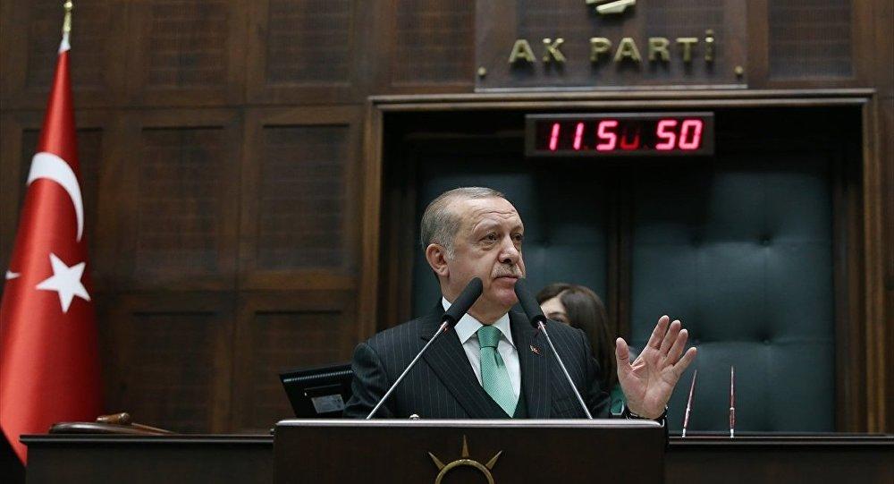 Erdoğan: Osmanlı tokadı yemediği belli