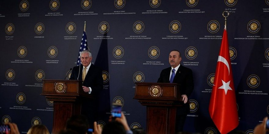 Ortak basın toplantısı... Tillerson: DSG'ye destek sınırlı olacak