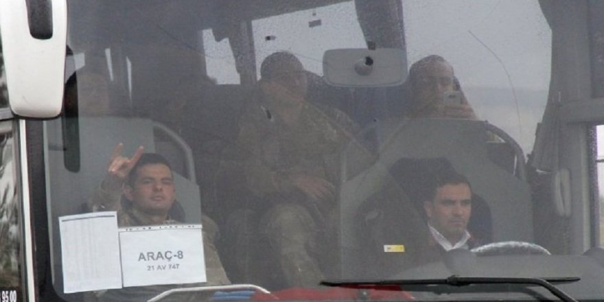 Diyarbakır'dan Afrin'e 11 otobüs JÖH sevkiyatı