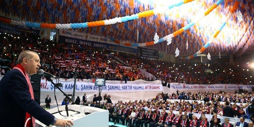 Erdoğan: Harekatın önemli lojistik merkezlerinden birisi Gaziantep