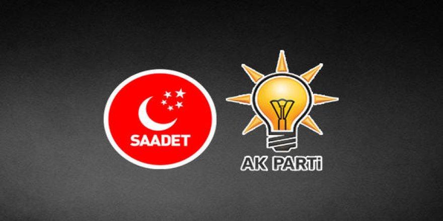 AK Parti ile SP görüşmesi bitti
